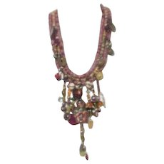 Asian Ethnic Multiple Dangles Necklace