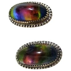 Whiting & Davis Thermoset Clip-on Earrings