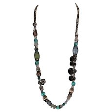 """36"""" Long Beaded Necklace from Chico's"""