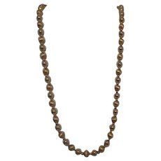 "Napier 29"" Goldtone Beads Necklace"