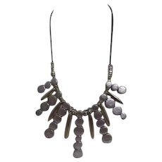 Chico's Multi-tone Necklace with Rhinestone Accents