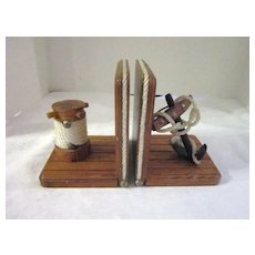 Vintage Nautical Book Ends