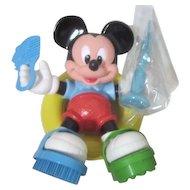 Disney Scrub-A-Dub Mickey 6 Piece Bath Toy