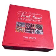Trivial Pursuit 1960's Master Game