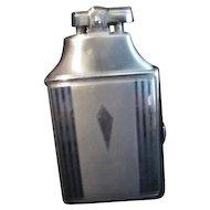 Ronson Silver Colored Cigarette Case and Lighter