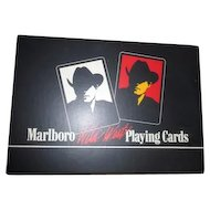 Double Decks Marlboro Wild West Playing Cards Sealed in Original Box