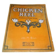 Sheet Music for Chicken Reel or Performer's Buck from 1910