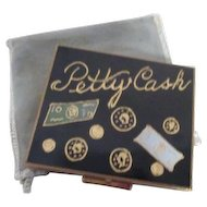 Vintage Petty Cash Compact from Kauffman's