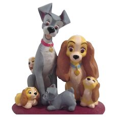 Hallmark Keepsake Ornament Disney Lady and Tramp Family Portrait