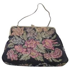 Tapestry Purse Made in West Germany for Walborg
