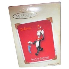 Hallmark Keepsake Dr. Seuss Cat in the Hat Christmas Ornament