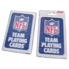 Two Decks Playing Cards NFL Dolphins and Oilers