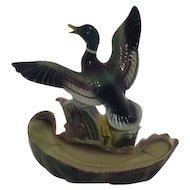 Mallard Duck Television Lamp and Planter by Lane TV Lamp