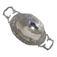 Godinger Silver Plated  Footed Two-Handled Server