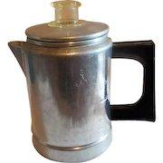 Comet 2 Cup Aluminum Coffee Pot