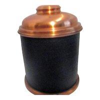 Copper Lidded Tobacco Humidor