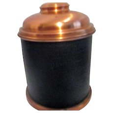 Copper Lidded Tobacco Humidor