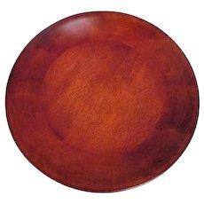 Polished Shallow Wood Bowl