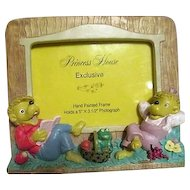 Princess House Hand Painted Picture Frame for Child's Photo