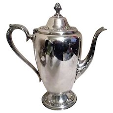 Rogers & Bro Silverplated Coffee Pot