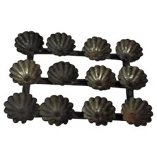 Candy Mold with 12 Attached Cups