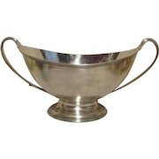 Silverplated Double Handled Fruit Bowl