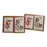 Two Sets of Double Decks of Congress Playing Cards Bird Motif