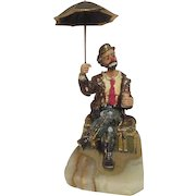 Large Ron Lee Sculpture of Emmett Kelly Jr. Signed by Artist 1983