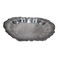 Silverplate Serving Tray Rectangular