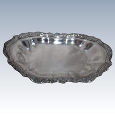 Silverplate Serving Tray Rectangular