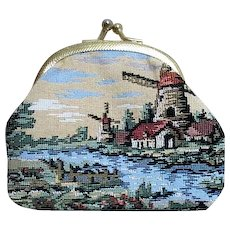 Tapestry Coin Purse with Dutch Design
