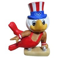 1984 Olympics Games Gymnastic Statue of Mascot Sam