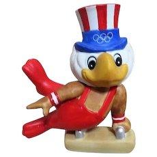 1984 Olympics Games Gymnastic Statue of Mascot Sam