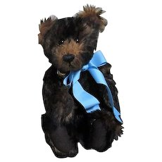 Mohair Jointed Teddy Bear Jingle Bell Bear by Bill Sessions