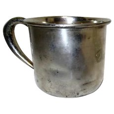 "Sterling Silver Child's Cup Engraved ""Diane"""