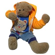 "24"" Stuffed Bear in Boys' Clothes"