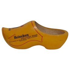 Dutch Wooden Shoe Advertising Heineken Holland Beer