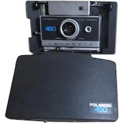 Polaroid Camera in Carrying Case with Accessories