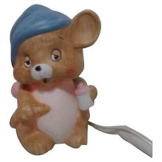Sleepy Baby Mouse Night Light Lamp