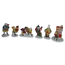 2 Sets Dept 56 Heritage Village Collection North Pole Series 1991 Accessories
