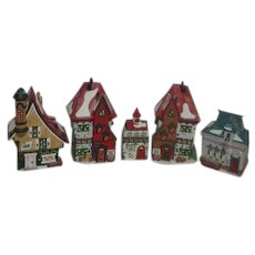 5 Dept 56 Heritage Collection North Pole Series Set of 5 Buildings 1994