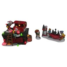 '97 Dept 56 Heritage Village Collection North Pole Series Accessories