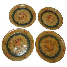 Occupied Japan Coasters/Doll Plates Set of 4