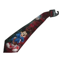 Mickey Mouse Polyester Tie Disney