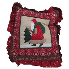 Christmas Pillow and Attached Wrap