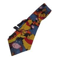 Winnie the Pooh and Eeyore Too Disney Tie