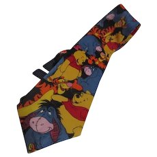 Winnie the Pooh and Eeyore Too Disney Tie
