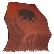 Old Grand Piano Paisley Scarf/Throw