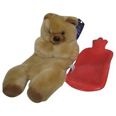 Teddy Bear with Insertable Hot Water Bottle England