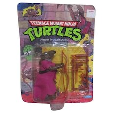 Teenage Mutant Ninja Turtles Splinter the Big Cheese Leader 1988
